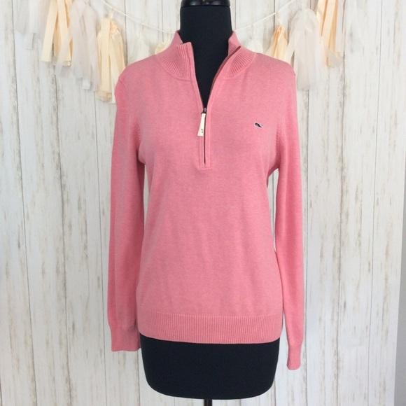 Vineyard Vines Sweaters - Vineyard Vines Pink Pullover Sweater Sz M